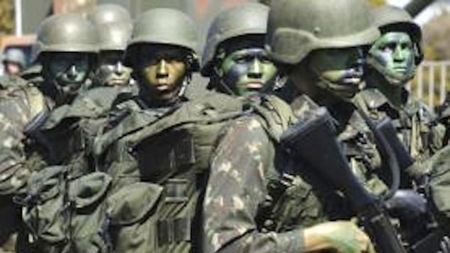 O conflito se intensificou no sábado no município de Antônio João, na fronteira do Brasil com Paraguai