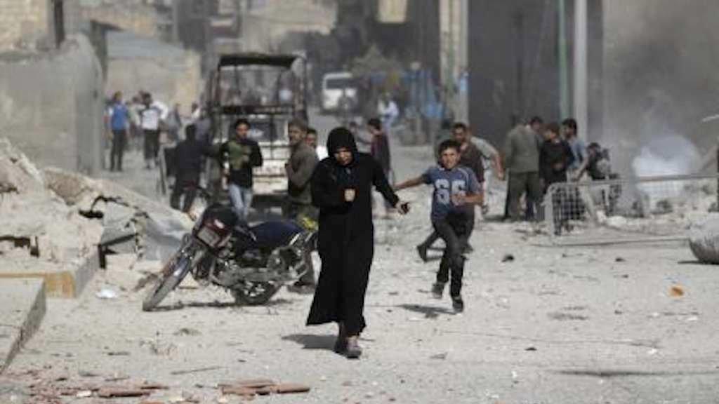 Milhares de combatentes apoiados pelos Estados Unidos abriram uma nova frente de batalha na guerra da Síria